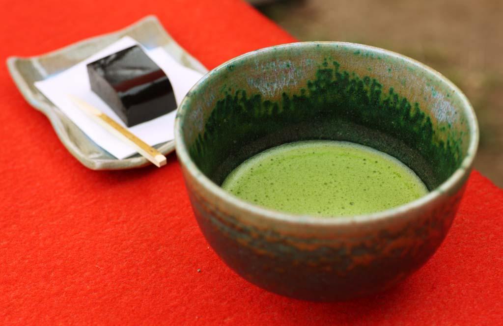 お茶会を見学してきました。